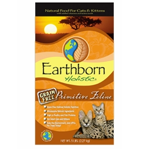 Earthborn Holistic® Primitive Feline Grain Free Formula Cat Food