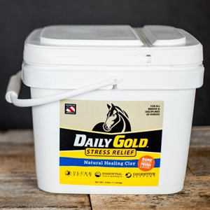 Daily Gold – Stress Relief Natural Digestive Healing Clay for Horses