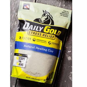 Daily Gold – Stress Relief Packet Digestive Health Clay for Horses
