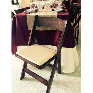 Fruit Wood Folding Chair Taylor Rental Party Plus Of