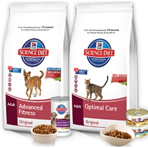 Science Diet Dog and Cat Foods