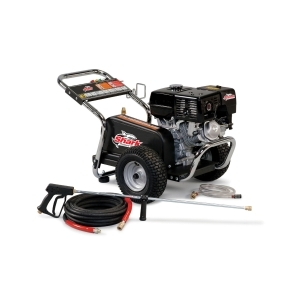 SHARK 2.5 @ 4000 HONDA GX200 COLD WATER BELT DRIVE PRESSURE WASHER