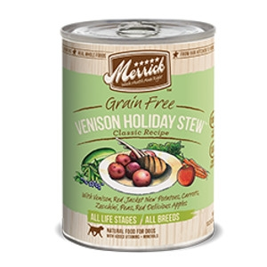 Merrick Venison Holiday Stew Can Dog Food