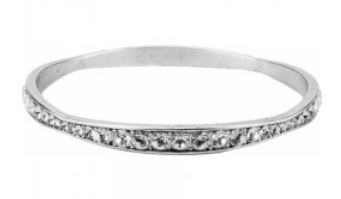 Brighton Light Hearted Crystal Bangle