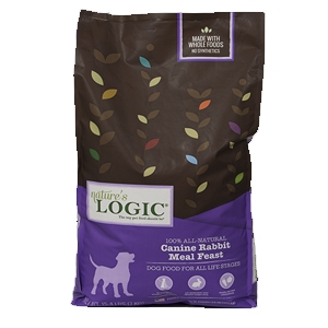 Nature's Logic Natural Rabbit Canine Forumla 26.4 Lb.