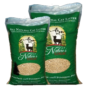 Nature's Logic Ponderosa Pine Cat Litter 24 lb.