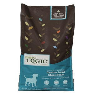 Nature's Logic Natural Lamb Kibble Canine Formula 15.4 lb.