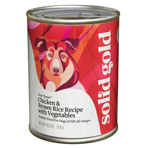 Solid Gold Dog Chicken/Liver 12/13.2Oz cans