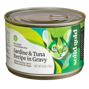 Solid Gold Cat Grain Free Sardine/Tuna 24/3Oz