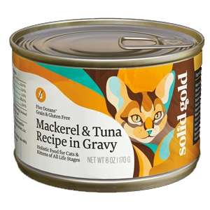 Solid Gold Cat Grain Free Mackerel/Tuna 24/6Oz