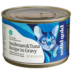Solid Gold Cat Grain Free Seabream/Tuna 24/6Oz