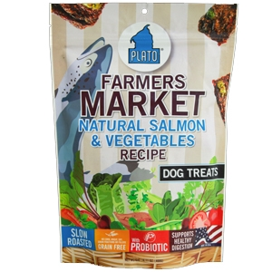 Plato Farmer's Market Salmon/Vegetable Grain Free 16oz