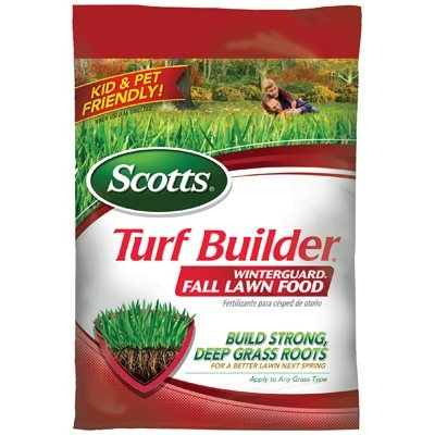 Scott's Turf Builder Winterguard Lawn Fertilizer, Covers 15,000 sq. ft.