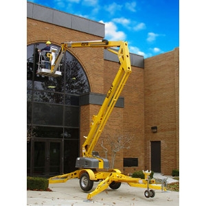 BilJax Trailer Mounted Boom Lift