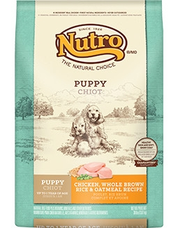 Nutro Original Puppy Food Chicken, Whole Brown Rice & Oatmeal Recipe