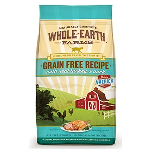 Whole Earth® Turkey & Duck Dry Cat Food