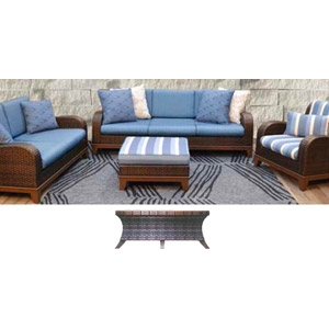Moorea 6 piece Patio Furniture Set