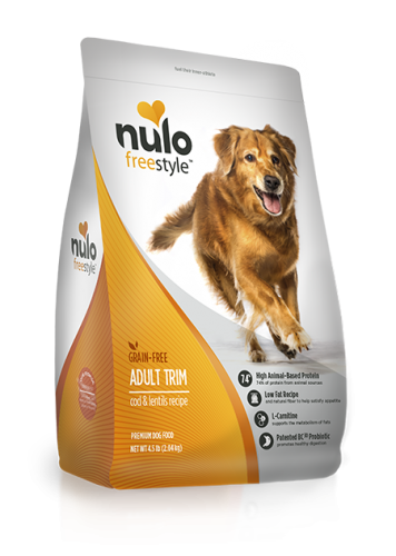 Nulo Freestyle Adult Dog Trim Cod & Lentils