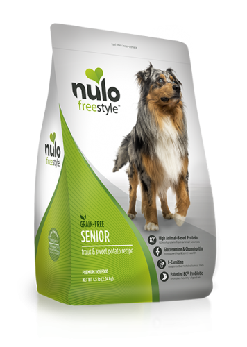 Nulo Freestyle Senior Dog Trout & Sweet Potato