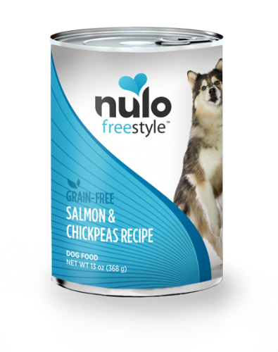Nulo Freestyle Dog Salmon & Chickpeas Canned
