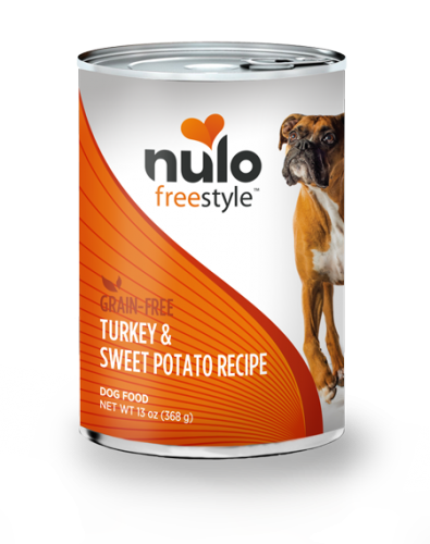 Nulo Freestyle Dog Turkey & Sweet Potato Canned