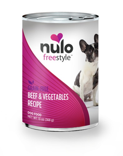 Nulo Freestyle Dog Beef & Vegetables Canned