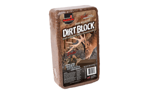 Dirt Block Deer Attractant