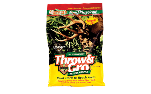 Throw & Gro No-till Personal Plot - Deer Food Plot Seed
