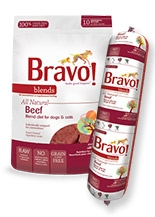 Bravo All Natural Beef Blend Diet for Dogs