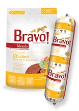 Bravo All Natural Chicken Blend Diet for Dogs