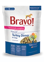 Bravo Homestyle Complete Natural Turkey Dinner for Dogs