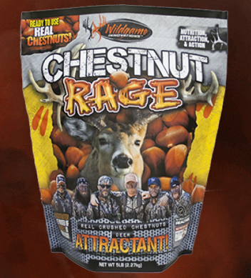 Chestnut Rage - Deer Attractant