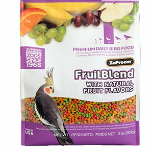 FruitBlend® Premium Daily Bird Food For Medium-Sized Birds