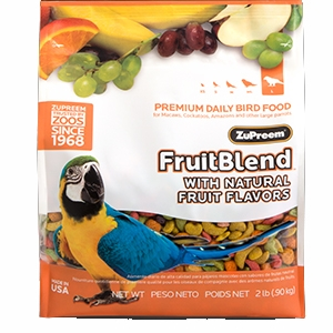 FruitBlend® Premium Daily Bird Food For Large-Sized Birds