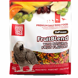 FruitBlend® Premium Daily Bird Food For Medium-Large Birds