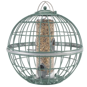 The Nuttery Globe Squirrel Proof Seed Globe Feeder