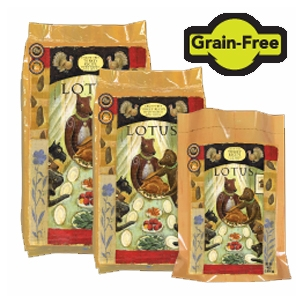 Lotus Grain Free Turkey Dog Food