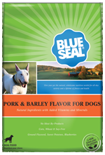 Blue Seal Pork & Barley Dry Dog Formula
