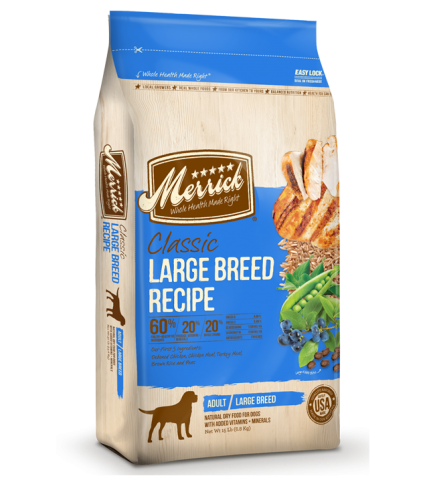 Merrick Classic Adult Dog Large Breed Dry Recipe