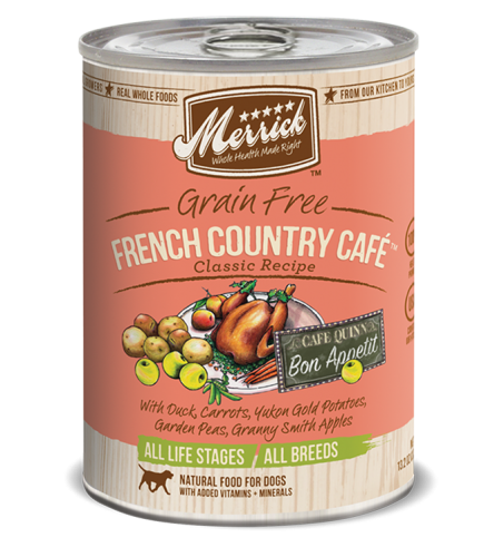 Merrick French Country Cafe Canned Dog Food