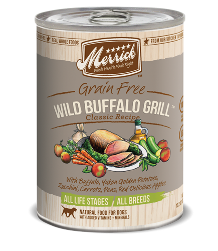Merrick Wild Buffalo Grill Canned Dog Food