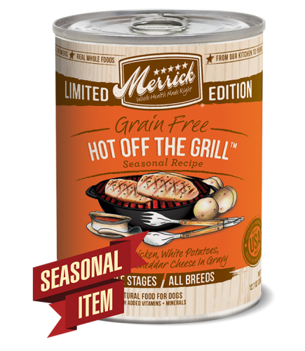 Merrick Hot off the Grill Canned Dog Food