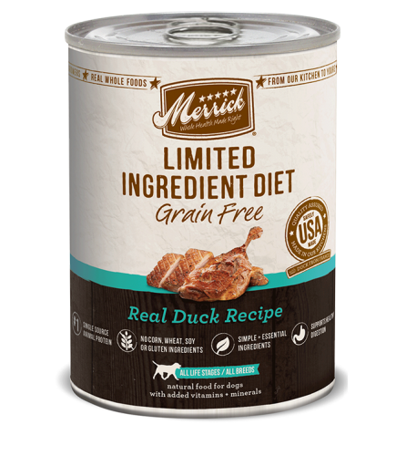 Merrick Limited Ingredient Diet Duck Canned Dog Food