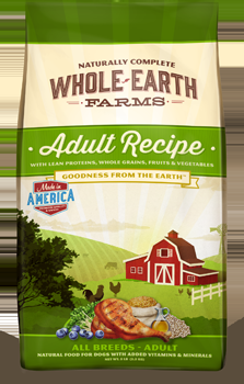 Whole Earth Farms Adult Dog Dry Recipe