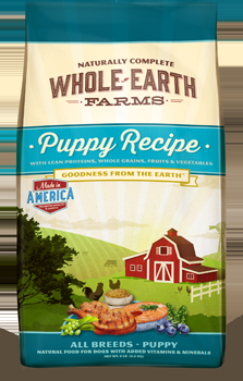 Whole Earth Farms Puppy Dry Recipe