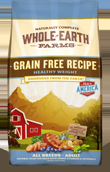 Whole Earth Farms Grain Free Dog Healthy Weight Dry Recipe