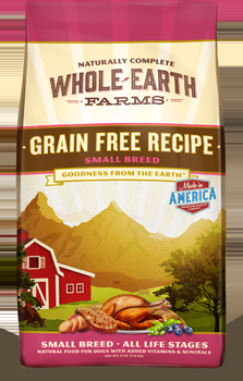 Whole Earth Farms Grain Free Dog Small Breed Dry Recipe