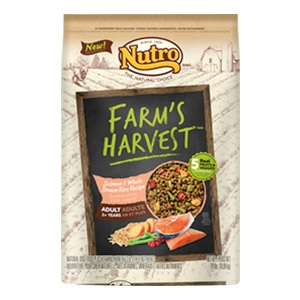 Farm's Harvest™ Salmon & Whole Brown Rice Recipe Adult Dog Food