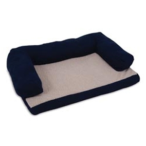 "Aspen Pet Bolster Orthopedic Pet Bed 35""x25"""