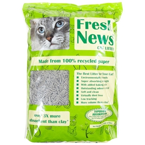Fresh News Premium Paper Cat Litter 12lb